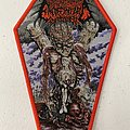 Encoffinized — Chambers of Deprivation woven patch coffin