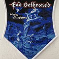 God Dethroned — Bloody Blasphemy woven patch