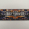 Bolt Thrower - Realm of Chaos woven patch strip