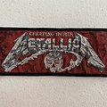 Metallica — Creeping Death woven patch strip