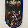 Bolt Thrower — The IVth Crusade woven patch