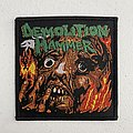 Demolition Hammer - Tortured Existence woven patch