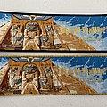 Iron Maiden - Powerslave woven patch strip