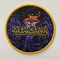 Fleshcrawl — Descend Into the Absurd woven patch
