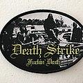 Death Strike - Fuckin' Death woven patch