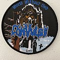 Convulse — World Without God woven patch