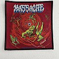 Massacre - From Beyond woven patch