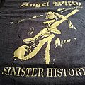 Angel Witch TShirt Sinister History