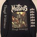 Mortuous Through Wilderness longsleeve TShirt or Longsleeve