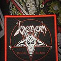 Venom-Welcome To Hell Bootleg Woven Patch