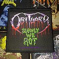 Obituary-Slowly We Rot Vintage Patch