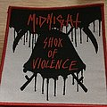 Midnight-Shox Of Violence Woven Patch.