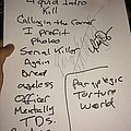 Vio-Lence Oakland Metro Sunday Setlist Other Collectable