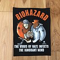 Biohazard - Patch - Biohazard - The Virus Of Hate Infects The Ignorant Mind BP