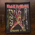 Iron Maiden - Patch - Iron Maiden - Somewhere In Time VTG Patch (Black Border)