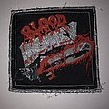 Blood Money - Patch - Blood Money- Red Raw And Bleeding Silver Border