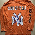 "Sick Of It All ""The Pain Strikes"" Longsleeve XL TShirt or Longsleeve"
