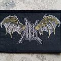 Dark Angel - Patch - Dark Angel-Batwings,original logo patch,1991