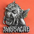 Massacre,official pin,1991 Other Collectable