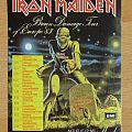 Iron Maiden-Brain Damage Tour,sticker,1983 Other Collectable