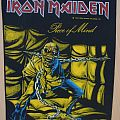 Iron Maiden-Piece of Mind,official BP,1983 Patch