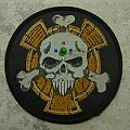 Games Workshop-Bolt Thrower´s Skull,official patch,1990