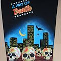 A Way Of Death - Patch - A way of Death-90´s Back Patch