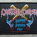 Cannibal Corpse-Hammer Smashed Face patch,1993