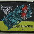 ACCEPT-Balls to the Wall,original patch,1983