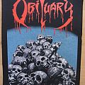 Obituary-Pile of Skulls BP,1991 Patch