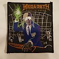 Megadeth - Patch - Megadeth-Rust in Peace patch for Steve