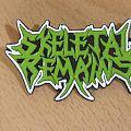 Skeletal Remains - Pin / Badge - Skeletal Remains-Official pin