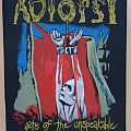 Autopsy-Acts of the Unspeakable,Official BP,1993 Patch