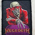 Megadeth - Patch - Peace Sells... but Who's Buying? Patch !!