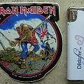 Iron Maiden-The Trooper,official sticker,1984 Other Collectable