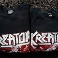 Kreator - TShirt or Longsleeve - Kreator-Pleasure to kill original sweater,1985