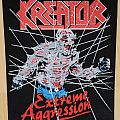 Kreator - Patch - Kreator-Extreme Aggression,BP,1990