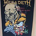 Megadeth - Patch - Megadeth-Peace sells...but who´s buying?,org. BP,1987