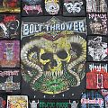 Bolt Thrower,DIY Backpatch