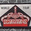 Scorpions - Patch - Scorpions- World tour original vintage patch