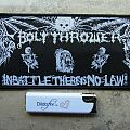 Bolt Thrower-In Battle there´s no Law,Bootleg patch