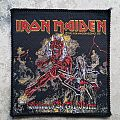Iron Maiden - Patch - Iron Maiden-Hallowed be thy Name patch,1993