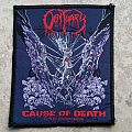 Obituary-Cause of Death patch,1990