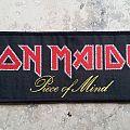 Iron Maiden - Patch - Iron Maiden-Piece of Mind original patch,1983