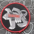 Scorpions- red bordererd original patch