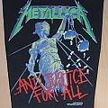 Metallica - Patch - Metallica-...And Justice for all,official BP,1988