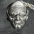 Kreator-Behind the Mirror,official pendant,1991 Other Collectable