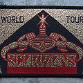 Scorpions - Patch - Scorpions-World Tour patch