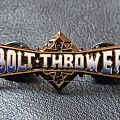 Bolt Thrower,official and original pin,1991 Other Collectable