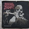 Morbid Angel-Red Logo,Leading the Rats,official patch,1990